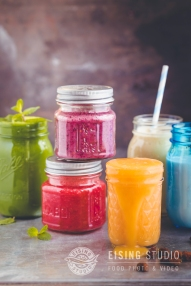 bunte Smoothies